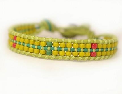 bratara-colorata-verde=femei-AVOCADO