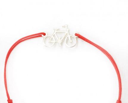 Bratara-pandantiv-argint-925-bicicleta