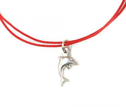 Bratara-snur-charm-argint-925-DELFIN