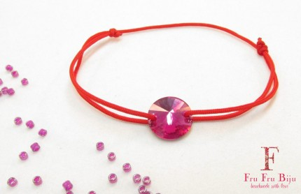Bratara-snur-rosu-cristal-swarovski-roz