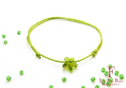 Bratara-snur-cristal-swarovski-stea-verde