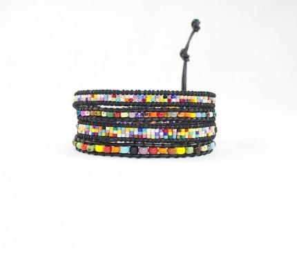 Bratara-multicolora-davi-margele-sticla