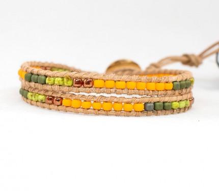 Bratara-suprapusa-multicolora-ORANGE-PICASSO-II