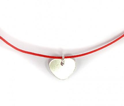 Bratara-snur-rosu-charm-argint-inima