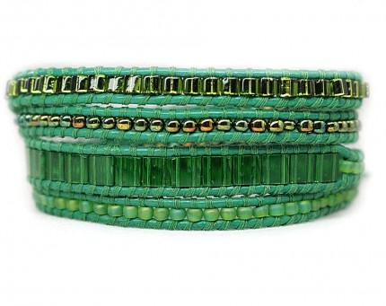Bratara-JIGSAW-femei-verde