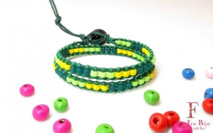 Bratara-copii-verde-sprite-margele-sticla