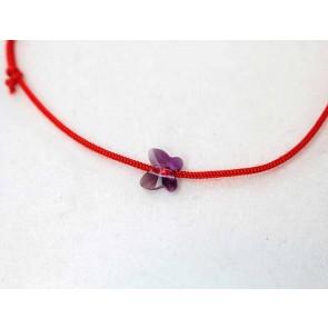 Bratara-snur-rosu-cristal-swarovski-fluturas-violet