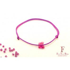 Bratara-snur-roz-cristal-swarovski-fluture-roz