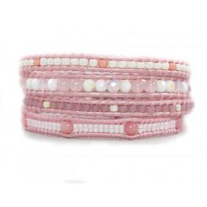 Bratara-dama-semipretioase-roz