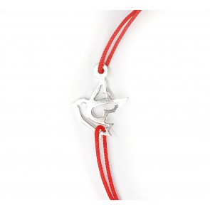 Bratara-charm-PORUMBEL-argint-925