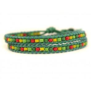 Bratara-verde-rosu-femei-MOKSHA
