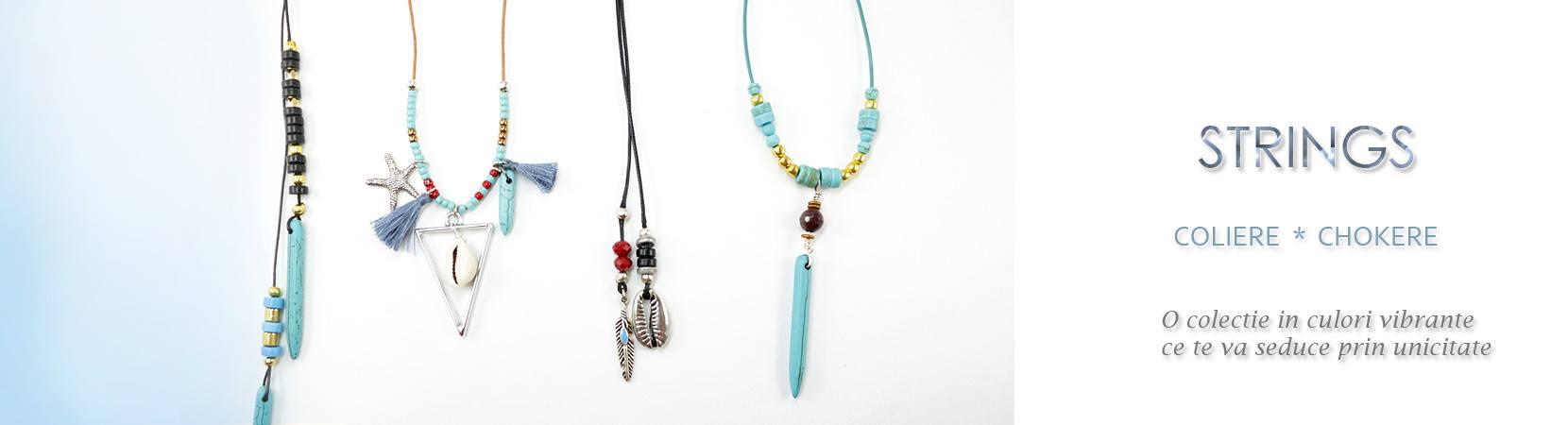 Coliere handmade chokere pentru femeile cu gusturi sofisticate
